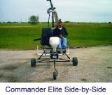"Автожир ""Air Commander"". Пилот и пассажир рядом (Side-by-side)"