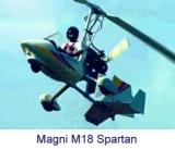 "Автожир ""Magni M18 Spartan"""